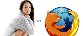 Megan Fox vs. Firefox