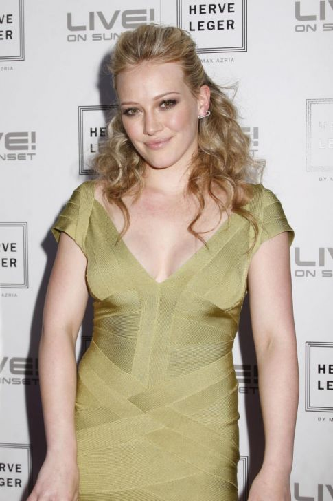 Hilary Duff Promotes New Film in Her Underwear