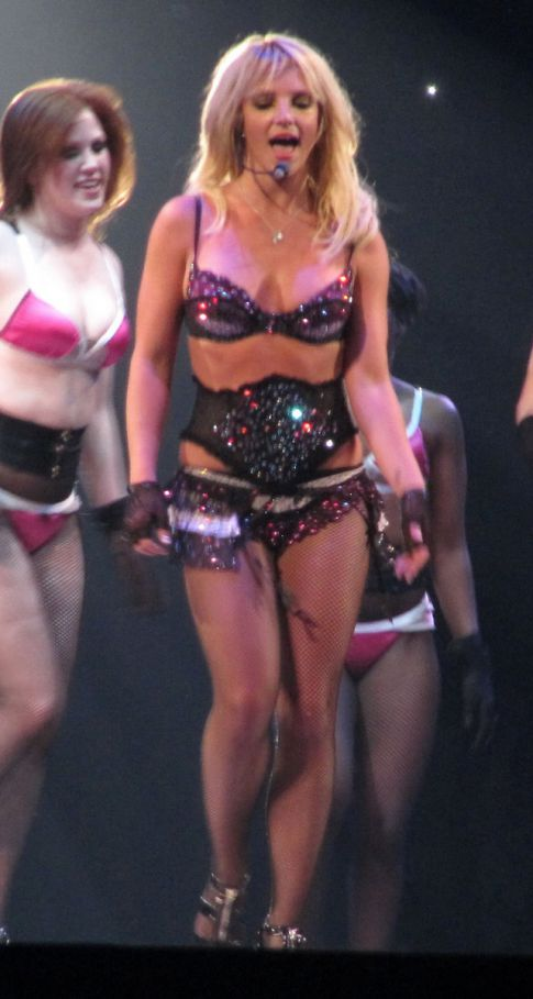 Britney Spears Takes the Sexy Off-Stage