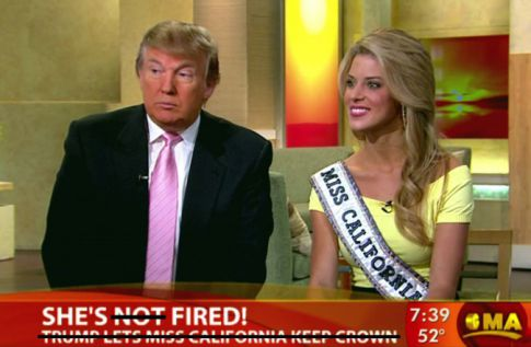 Miss California Carrie Prejean Fired, Loses Crown