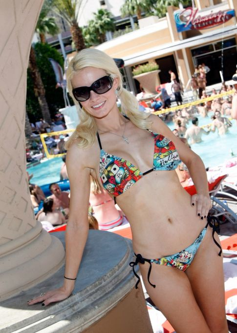 Holly Madison @ GO Pool Event
