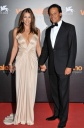 Elizabeth Hurley's Cleavage Attends Venice Film Festival