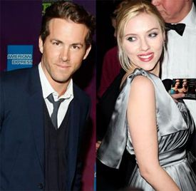 A Lover's Quarrel for Ryan Reynolds & Scarlett Johansson?