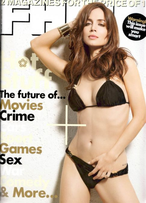 Eliza Dushku: FHM, Scantily Clad, and Sexy As Ever