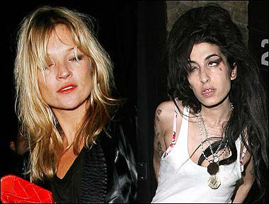 Amy Winehouse Stole Coke From Kate Moss (So Surprising, Right?)