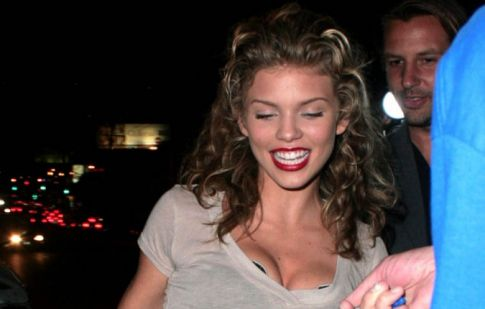AnnaLynne McCord Ruins A See Through Moment