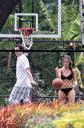 Jennifer Love Hewitt Likes Basketball In A Bikini