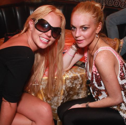 Trouble in the Air: Britney Spears & Lindsay Lohan Hang Out