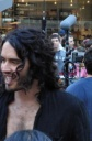 EXCLUSIVE: Russell Brand On Set Filming 'The Love Guru 2' In NYC