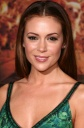 Alyssa Milano at Premiere of Beverly Hills Chihuahua