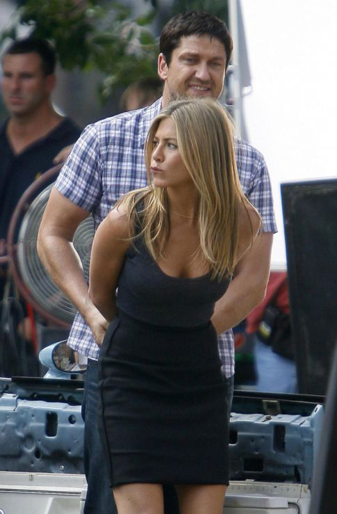 Jennifer Aniston & Gerard Butler Like Working Together