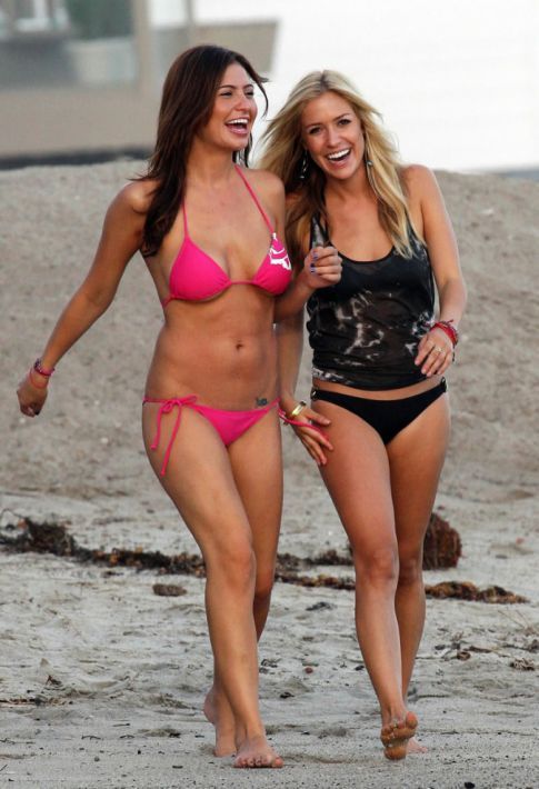 'The Hills' Are Alive with the Sight of Kristin Cavallari and Stacie the Bartender in Bikinis