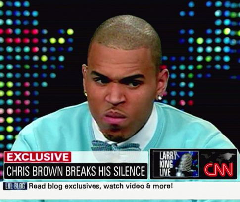Chris Brown 'Slapped in the Face' by Oprah Winfrey Over Rihanna Beating