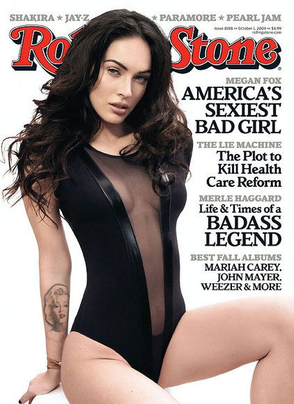 Megan Fox Sexy As Ever On the Cover of 'Rolling Stone'