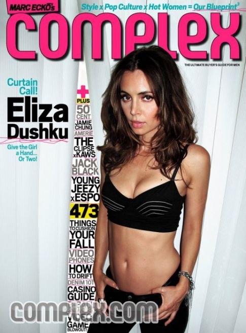 Eliza Dushku Is Sexy Complex in 'Complex' Magazine
