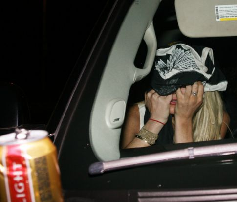 Lindsay Lohan A Drunken Mess @ Emmy's After Party