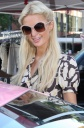 Paris Hilton Is Pretty In Pink; But Not As Pretty As Her Pink Bentley