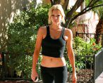 Sophie Monk Works Out In Tight, Little Clothes