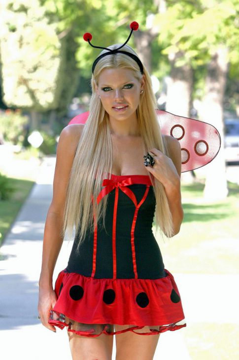 Happy Halloween! Jobless Sophie Monk Is A Sexy Lady Bug