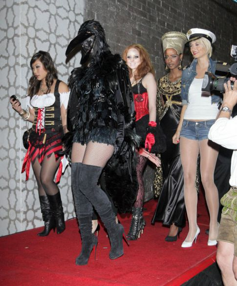 Most Bizarre/Out There Halloween Costume: Heidi Klum, As Usual