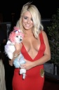 Aubrey O'Day Almost Falls Out of Her Top