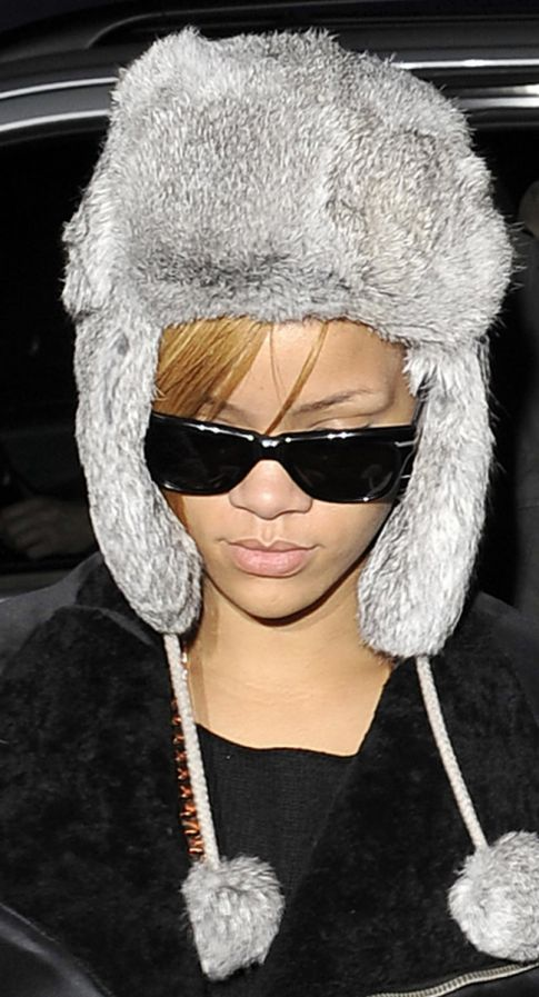 Rihanna's Got A Bump On Her Head, Chris Brown Round 2?