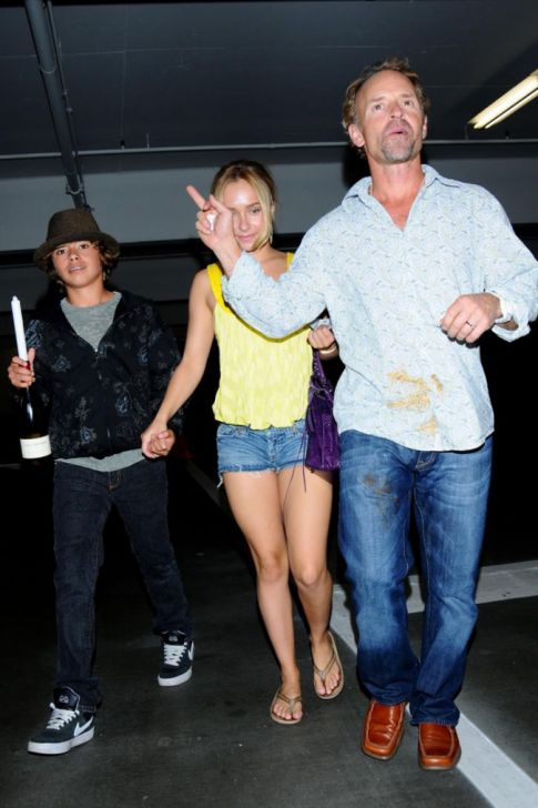 Hayden Panettiere's Father Gives the Ol' One-Two, Punch