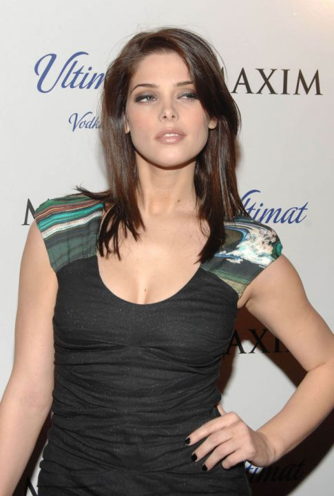 Ashley Greene Is Gorgeous At 'Maxim' Cover Party
