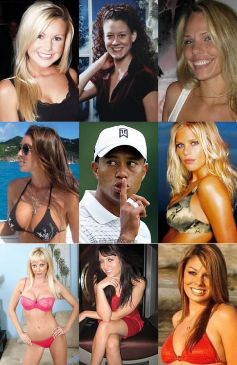 Tiger Woods, His Batch Of Alleged Whores, & No Condoms Allowed!