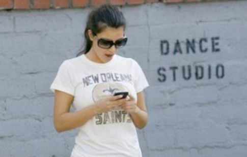 Kim Kardashian at Dance Studio, Baby Got Back and Front