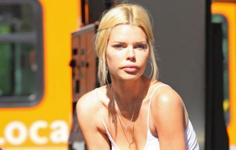 Sophie Monk Makes Pumping Gas Look Pretty