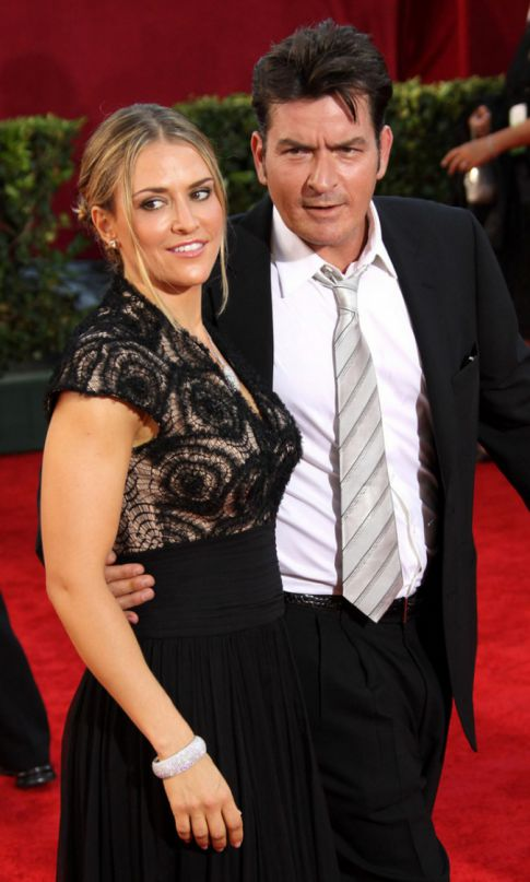 Charlie Sheen Allegedly Threatened Wife, Brooke Mueller With Knife