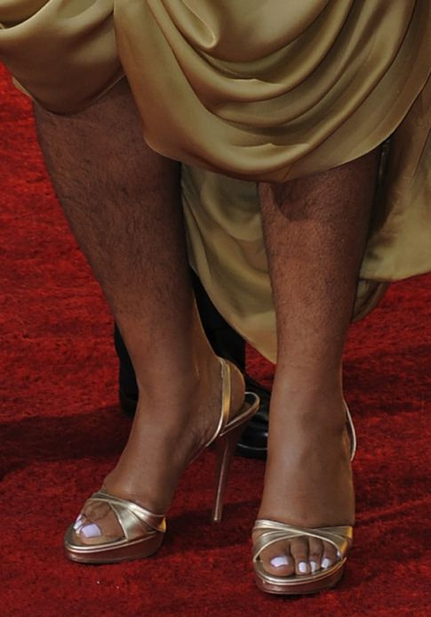 Mo'Nique's Hairy Beast Legs Were My Favorite Part Of The Golden Globes