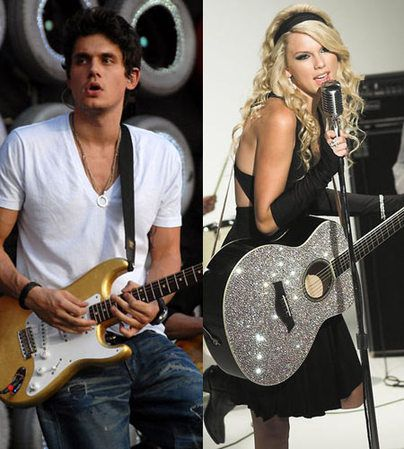 Taylor Swift Spends The Night With John Mayer