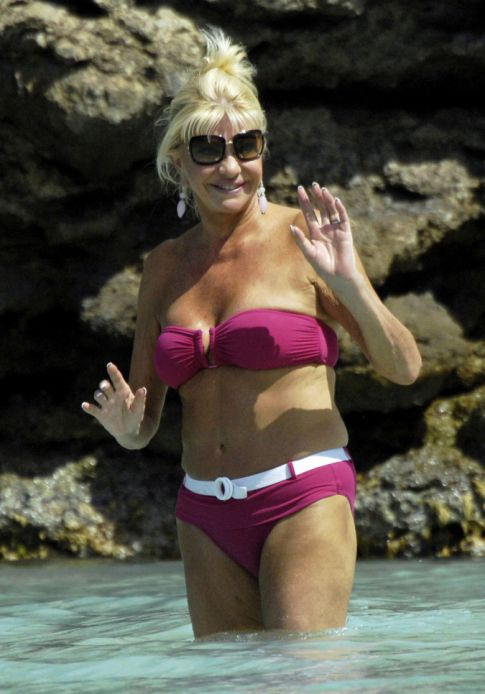 Ivana Trump In A Bikini To Cure Those Monday Blues!