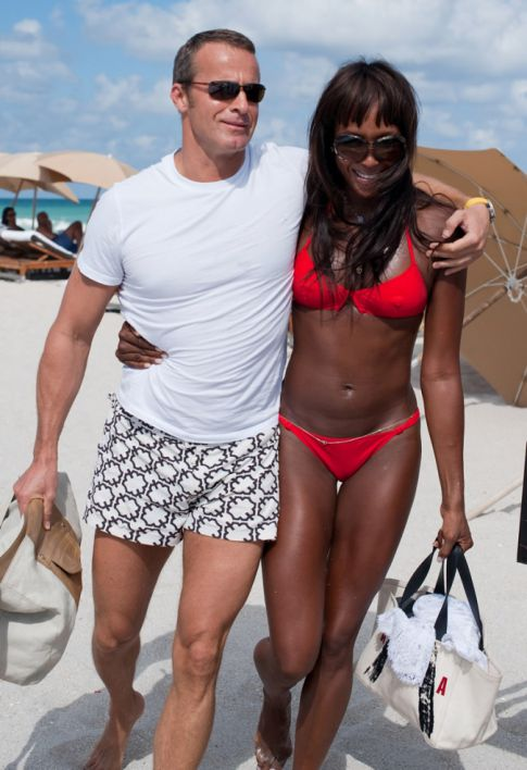 Naomi Campbell's Boyfriend Is A Married Man