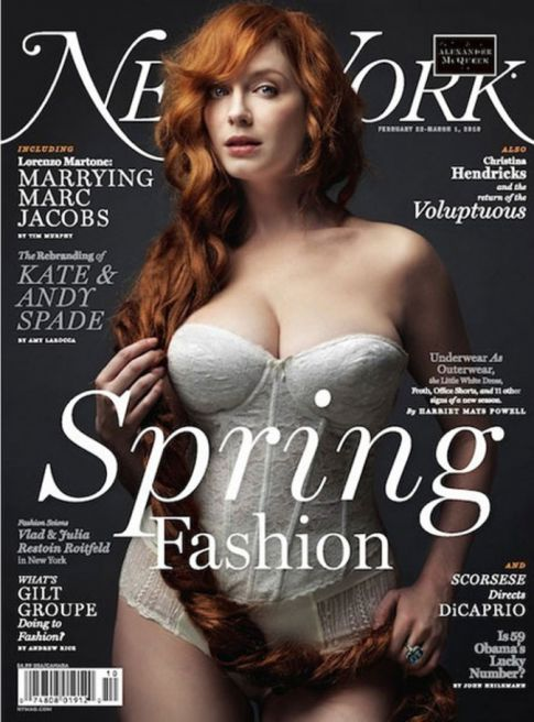 Christina Hendricks Busts Out On 'New York' Magazine