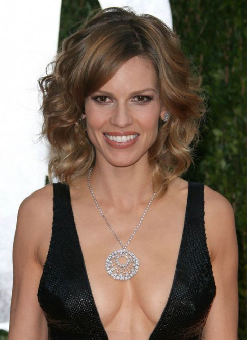 The Best Of Oscar After Party Cleavage: Hilary Swank