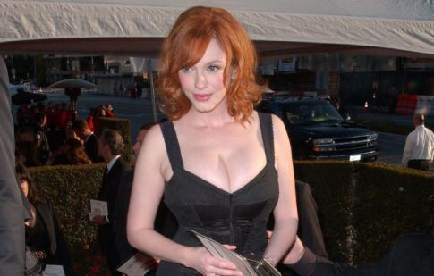 The Best Of Oscar After Party Cleavage Part Two: Christina Hendricks