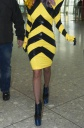 Lady GaGa's Fashion Sense Gets Her Into A Plane Mess