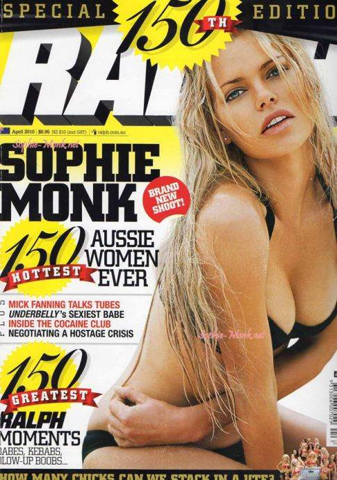 Sophie Monk Let's It Hang Out On 'Ralph' Magazine