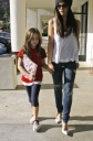 Kate Beckinsale Teaches Daughter Lily to Shop
