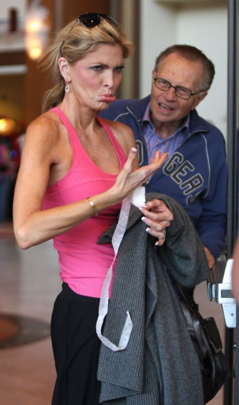 Larry King & His Wife Reconsidering Divorce?