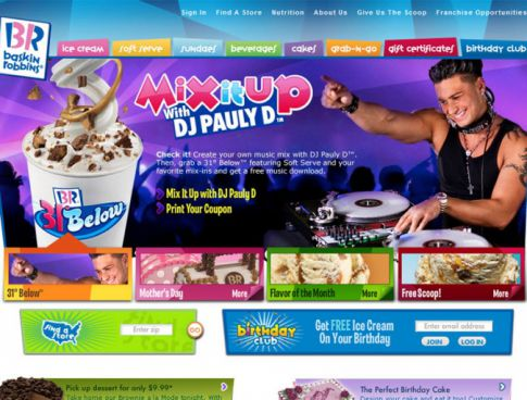 Baskin Robbins Hires 'Jersey Shore' Fav Pauly D As Spokesperson