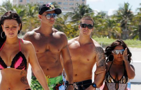 'Jersey Shore' Cast Beach Day