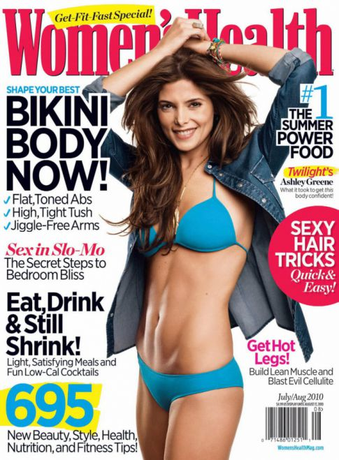 Ashley Greene's Crazy Six Pack Bod On 'Women's Health' Cover