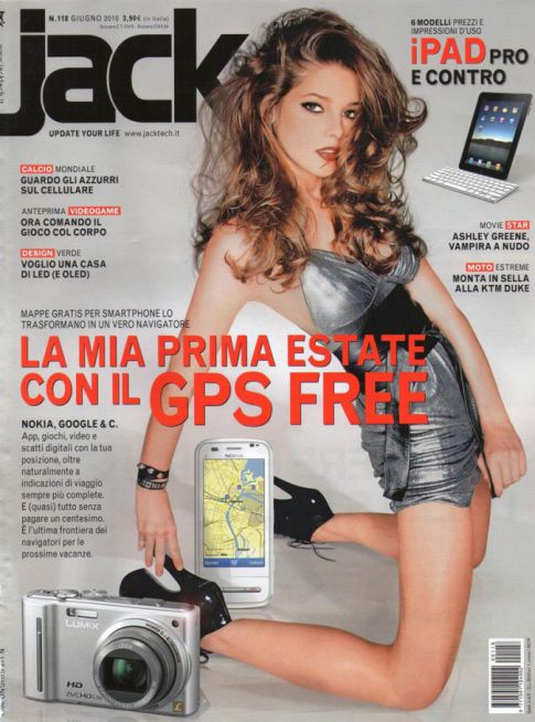 Ashley Greene Sexy On 'Jack' Magazine Cover