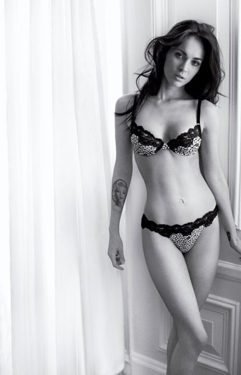 Megan Fox Is In Her Underwear For Armani