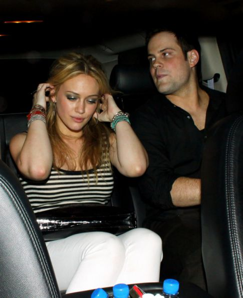 Hilary Duff & Mike Comrie Probably Shouldn't Fighting This Much If They're Engaged