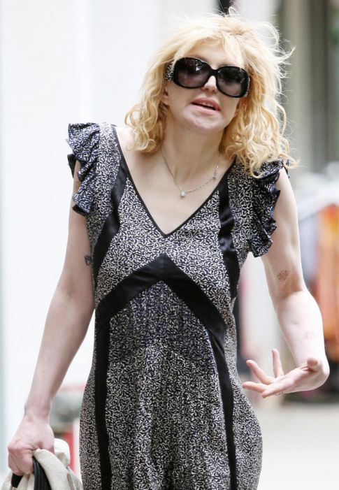 Courtney Love Is Dressing For Love